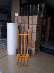 Mudanzas Urgentes en Barcelona materiales