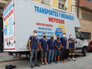 Mozos de carga y descarga en Barcelona