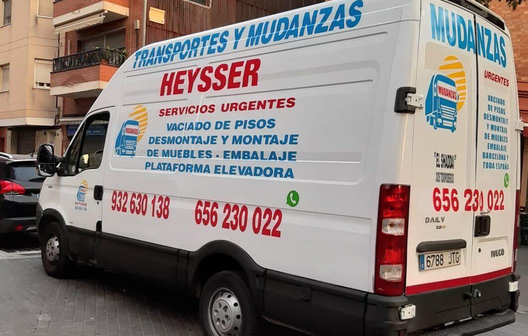 furgoneta para alquiler de mudanzas heysser
