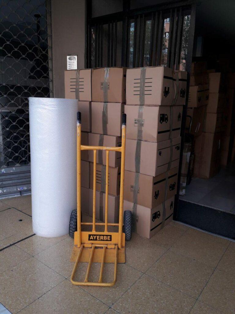 Materiales para mudanzas en barcelona
