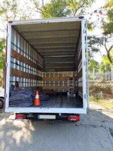 Camión Grande para mudanzas pequeñas